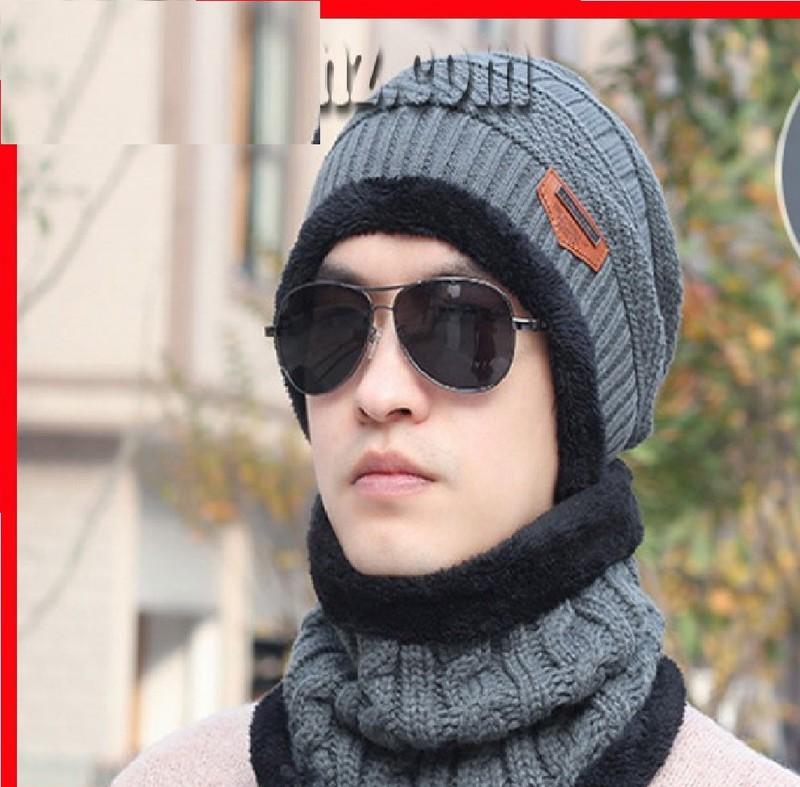 Mũ len mùa đông -mũ berenón vành- nón nữ