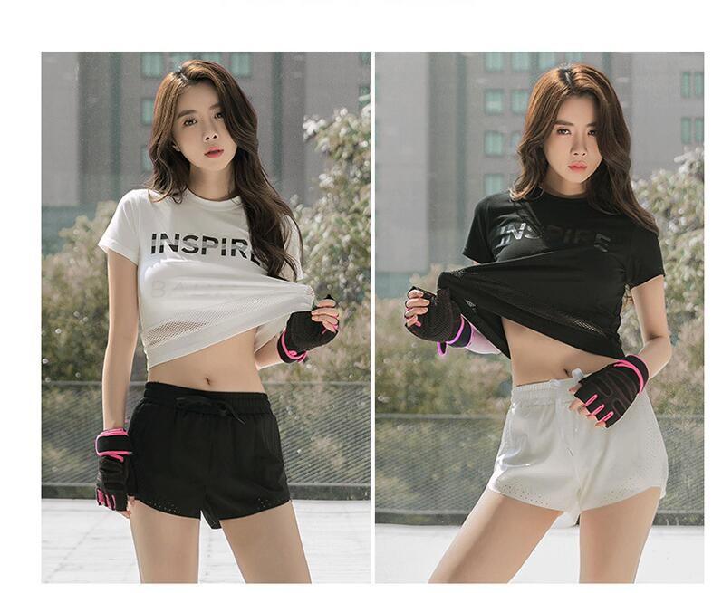 Bộ quần áo thể thao nữ cá tính (Set 3 cái)