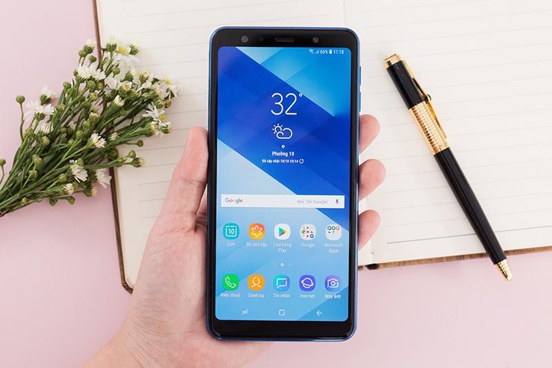 Ảnh chụp từ điện thoại Samsung Galaxy A7 2018 128GB