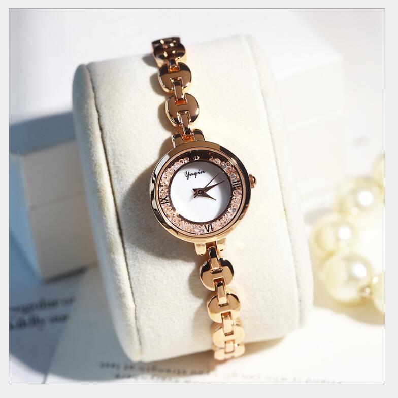 Đồng hồ nữ Yagin đính hạt - Mẫu I