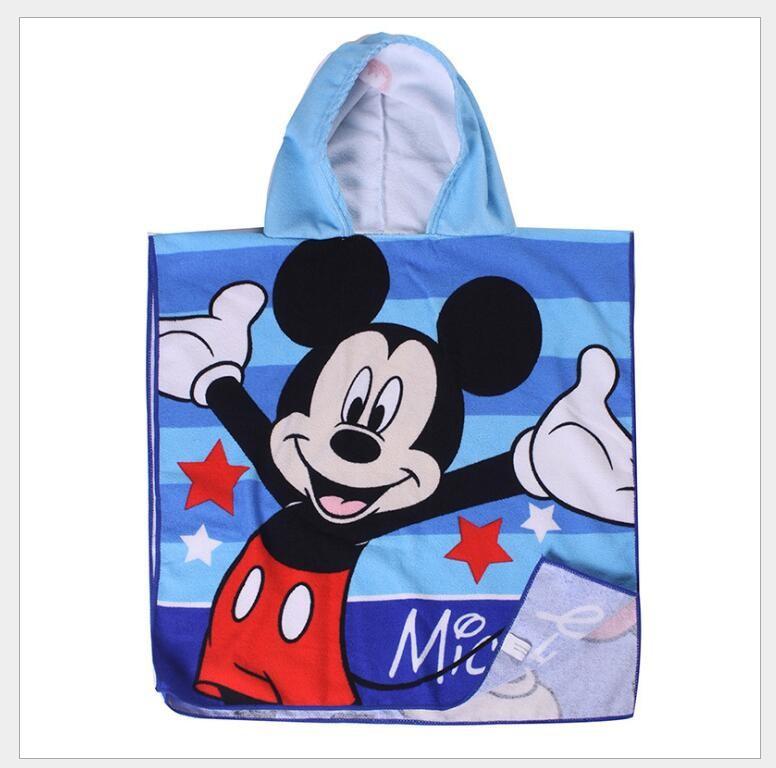 Khăn choàng tắm họa tiếtchuột Mickey