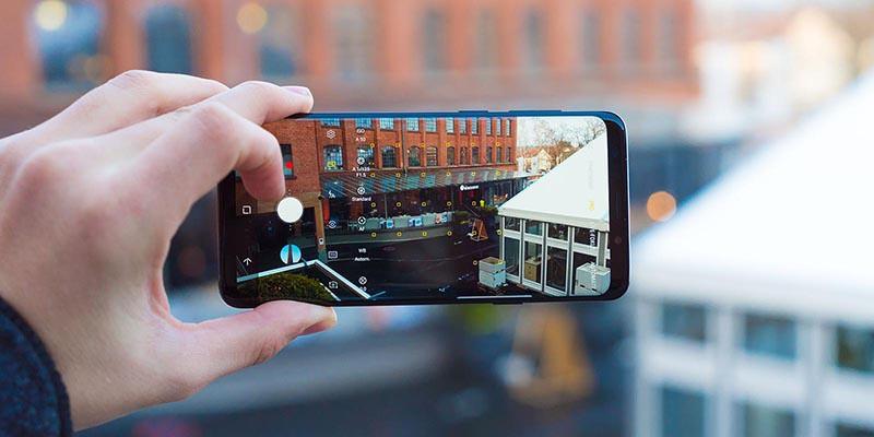 AR Sticker trên điện thoại Samsung Galaxy S9 Plus