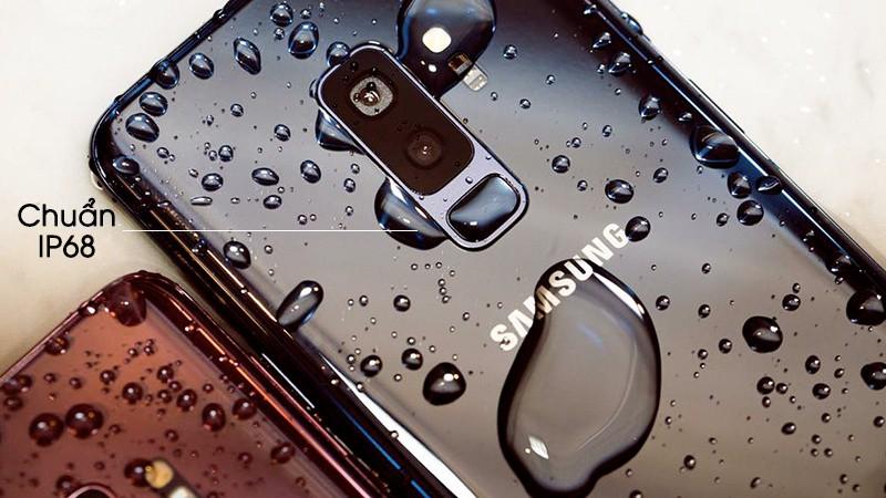 Chống nước trên điện thoại Samsung Galaxy S9 Plus