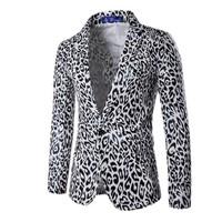 áo khoác blazer da cá tính Mã: NK1139 - TRẮNG