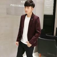 áo khoác blazer nam tính Mã: NK1156 - ĐÔ
