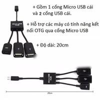 CÁP OTG MICRO USB