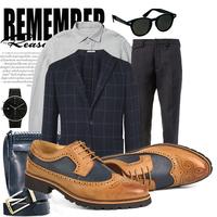 Giày tây công sở da cao cấp chính hãng - Giày Oxford  - Giày tây nam