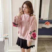 #6327 - Áo dài tay mặc đông nữ kiểu Hàn Quốc - giá 590k