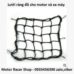 Lưới thun ràng đồ cho motor xe máy