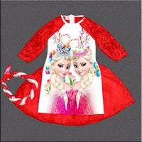Bộ áo dài ren elesa cho bé diện mùa xuân hàng vnxk