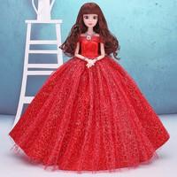 Búp Bê Khớp Cô Dâu Xinh Đẹp-Tặng Kèm 3 Váy Ngắn