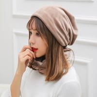 Mũ kèm khăn nhung