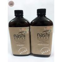 Bộ dầu gội xả NASHI ARGAN 500ml Bản Salon