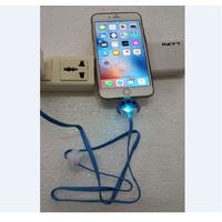 Cáp sạc dạ quang cho iPhone hình mặt thú