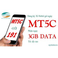 SIM 4G Viettel MT5C 10 số Tặng 3GB 1ngày chỉ với 5000đ