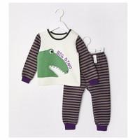 Bộ đồ BIG DINO cho bé trai - UniFriend - Quần áo trẻ em Hàn Quốc
