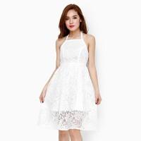 Đầm yếm ren