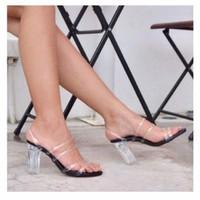 giày gót vuông kiểu 2812