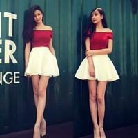 Chân váy xòe siêu xinh CV9101
