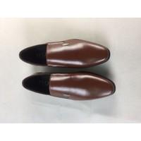 Giày lười nam da bò mẫu mới nhất 2018 LC1101