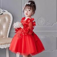 BG3286 - Đầm voan công chúa