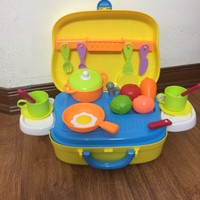 Bộ đồ chơi nấu bếp vali khuyến mại Friso
