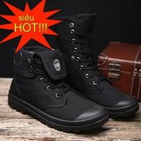 Giày nam cao cổ thời trang G16D
