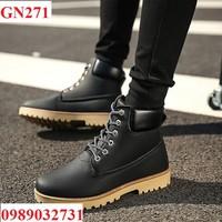 HÀNG NHẬP - Giày bốt nam cao cấp - GN271