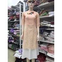 Áo dài kèm váy