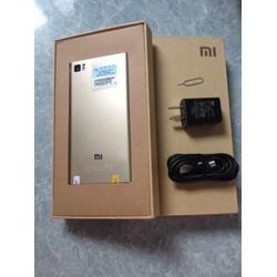 xiaomi mi3 mơi, fullbox, ram 2GB, bộ nhớ 16GB, pin 3030 mah