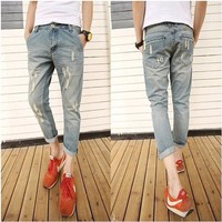 Quần jeans Harem nam thời trang QJ01