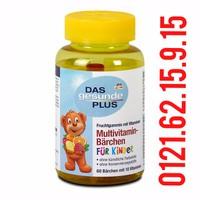 Kẹo Vitamin tổng hợp Cho Bé Das gesunde Plus 60 Viên - Đức