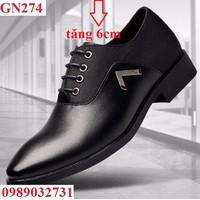 HÀNG NHẬP - Giày tây nam tăng chiều cao  - GN274