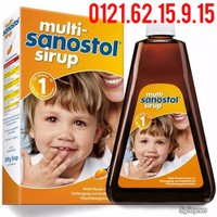 Vitamin tổng hợp Multi Sanostol Sirup số 1 dạng siro 300g - Đức