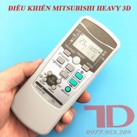 Remote máy lạnh Mitsubishi Heavy 3D