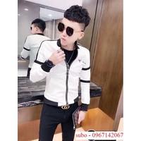 Áo khoác da nam, kiểu dáng và phong cách trẻ trung