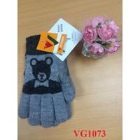 Găng tay len dành cho bé trai lót lông