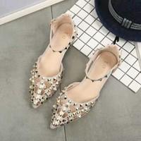 giày sanđan hoa cực xinh