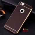 Ốp lưng da vân nổi sang trọng cho IPhone 6-6s-7-8-X