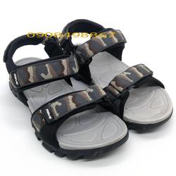 Giày Sandal Nam | Sandal Nam quai ngang màu lính