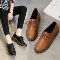 Giày Oxford nữ da trơn