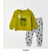 Bộ quần áo hình cú cho bé - Quần áo trẻ em - Đồ bộ cho bé