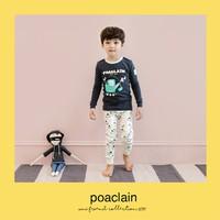 Bộ đồ cho bé trai chất liệu cotton - Quần áo trẻ em Hàn Quốc