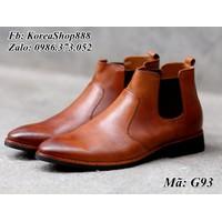 Giày Bốt Chelsea Da Bò Cao Cấp Mã G93
