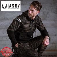 Áo Khoác Quân Đội ASRV Rằn Ri Phong Cách