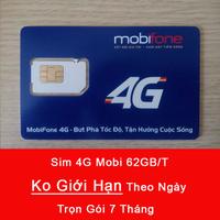 Sim 4G Mobifone Tặng 62GB Hàng Tháng - Không Giới Hạn Theo Ngày