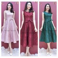 Đầm Dự Tiệc Hoa Sang Chảnh Hot -d1213