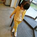 bộ quần áo khoác cho bé gái