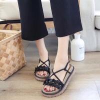 Giày sandal hoa xinh 3p