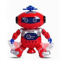 Robot thông minh xoay 360 độ đỏ